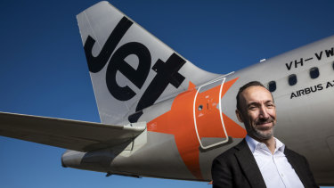 Jetstar boss Gareth Evans said 44 flights would be cancelled on Saturday and 46 on Sunday.