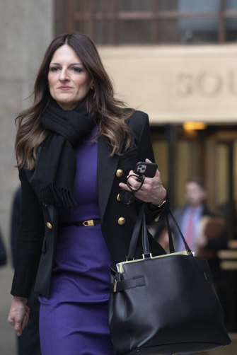 Weinstein's lawyer Donna Rotunno.