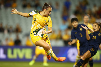 Friday night's hero Caitlin Foord was unable to add to her tournament tally but it mattered little in a dominant Matildas performance.