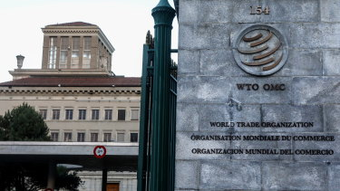 The WTO's Appellate Body is down to only one judge, leaving it largely irrelevant.