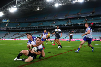 The NRL concedes it may again be forced to play in front of empty stadiums.