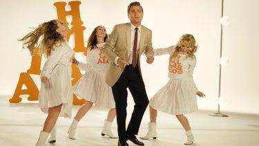 Leonardo DiCaprio in his dance scene choreographed by Toni Basil.