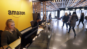 Smaller rivals say they have little choice but to work with Amazon.