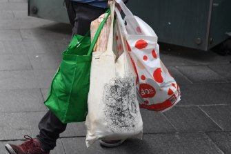 Coles is asking customers to pack their own shopping bags as a hygiene measure.