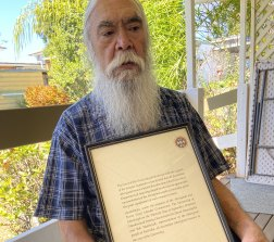 Bob Weatherall and the 1991 Edinburgh University statement entrusting him with the collection of Aboriginal remains