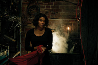 Zahra Newman returns to the Malthouse stage as Lady Macbeth.