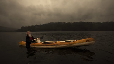 Bruce Pascoe on Genoa River.