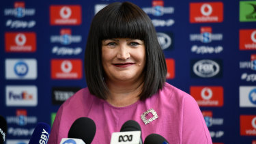 Raelene Castle believes there is interest in rugby from more than one broadcaster.