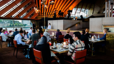Restaurant expenditure was up nearly 10 per cent in NSW this October compared to last year.