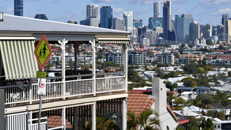 About 34 per cent of Queensland households are rentals.