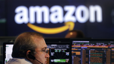 Amazon shares jumped 4.5 per cent on the day.
