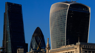 There's no pre-Christmas lull in the city of London this year.