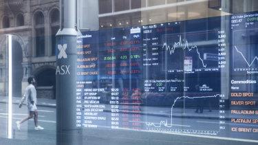 Australian shares edged higher on Wednesday.