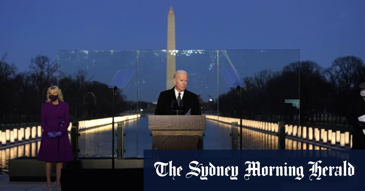 , In evening vigil, Biden, Harris call on Americans to remember coronavirus victims, Indian & World Live Breaking News Coverage And Updates
