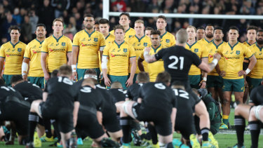 No retreat, no surrender: The Wallabies must treat the haka as mere pre-match entertainment.