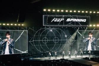 GOT7 on their Australian tour.