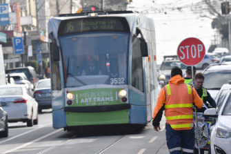 Tram workers are set to strike during the second week of the Australian Open.