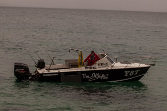"""""""It will definitely put fresh seafood on local plates,"""" says Mr York, who runs a fishing charter and tour company."""