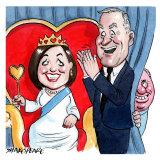 Michael and Catherine McCormack. Illustration: John Shakespeare