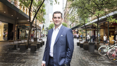 Super Retail boss Anthony Heraghty is well prepared for the shift towards more online shopping.