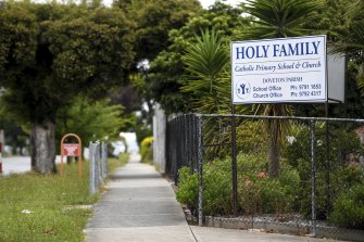 The Holy Family Parish Church in Power Rd Doveton is one of the COVID-19 exposure sites linked to the three new cases in Victoria.