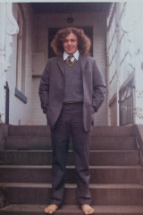 John Turner, pictured here when he was 15 years old.