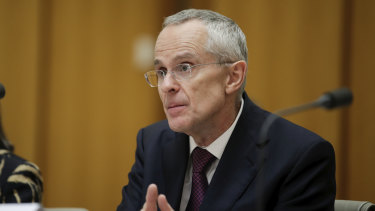 Rod Sims, chairman of the ACCC. The commission's inquiry into digital platforms was regarded as the most comprehensive undertaken anywhere in the world.