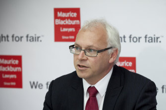 Andrew Watson, head of class actions at Maurice Blackburn, says litigation funding helps victims hold the powerful to account by funding claims that would otherwise not get off the ground.