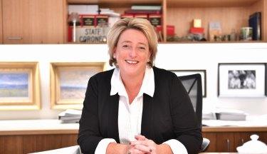 State Coroner Sara Hinchey stepped aside last year.