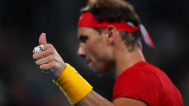 Nadal said he was unable to play in Spain's doubles decider due to physical exhaustion. He called for the ATP Cup and Davis Cup to be merged.