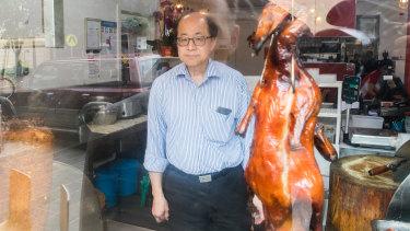 Business is slow at Roast Duck Inn, says Stephen Ku.