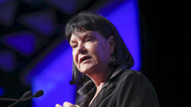 Sharan Burrow says political leaders need to give working people confidence in a 'just transition' away from coal.