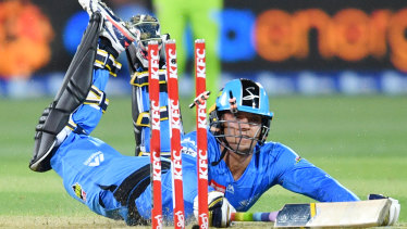 The Big Bash League - runs on both Seven and Foxtel but has lost audiences this year.
