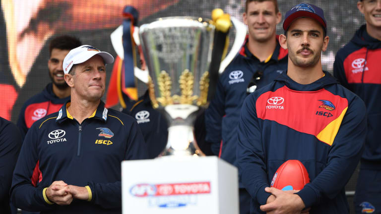 What a difference a year makes: it's been a nightmare season for Don Pyke's Crows.