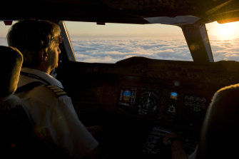 """Studies person  shown that pilots consciousness   that their enactment    is their calling. """"Following the lines of clouds and weaving betwixt  them – that's a fantastic  thing,"""" says Richard de Crespigny."""
