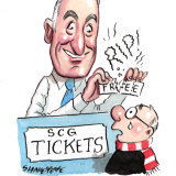Sports Minister John Sidoti does not want free tickets from the SCG Trust any more.
