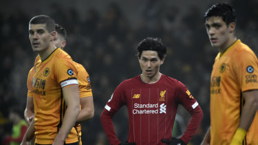 Late goal sees Reds past Wolves in EPL, Tranmere set up United clash in FA Cup