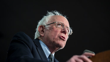 US Senator Bernie Sanders appears to be have come in second in the Iowa caucuses.