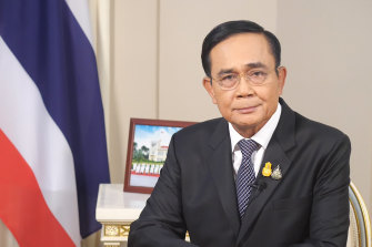 Thailand Prime Minister Prayuth Chan-ocha is imploring protesters to desist their unrest.
