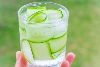 Pictured is the Green Grocer G&T, with its lemon, pepper and thyme flavours.