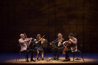 ASQ in concert at the Melbourne Recital Center.