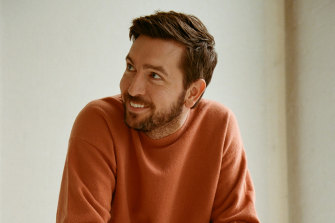 """Succession's Nicholas Braun grew a beard for an upcoming role. """"I didn't adjacent    cognize  I could."""""""