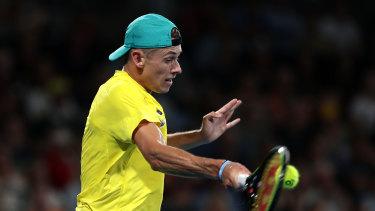 De Minaur was brilliant against Nadal.