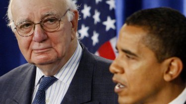 Volcker inspired tough Wall Street reforms in the wake of the global financial crisis.