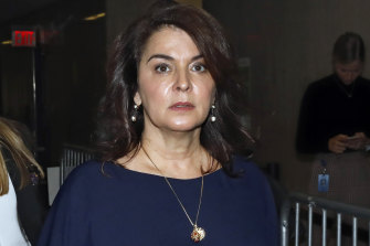 """Annabella Sciorra told the jury: """"It was just so disgusting that my body started to shake."""""""