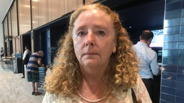 Kym Killpatrick attended a Westpac AGM for the first time on Thursday to vent her anger.