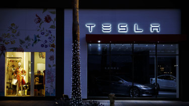 Tesla's sales growth has been more than nine times the industry average during the past decade and 832 times Toyota's 25 per cent appreciation since Tesla became a public company in June 2010