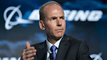 Boeing chief Dennis Muilenburg was criticised by the FAA earlier this month for pursuing an unrealistic schedule for the Max's return to service.