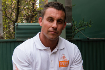 Chad Staples, director of Mogo Wildlife Park, says the zoo survived the New Year's Eve bushfire without assistance from the RFS.