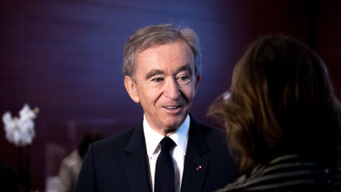Bernard Arnault, the third-richest person in the world became the third centi-billionaire in 2019.